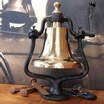 Large-Polished-Brass-Railroad-Bell--Second--12668