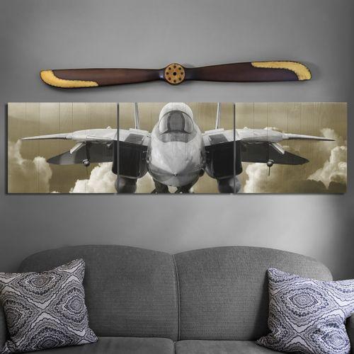 F-14 Fighter Aviation Triptych