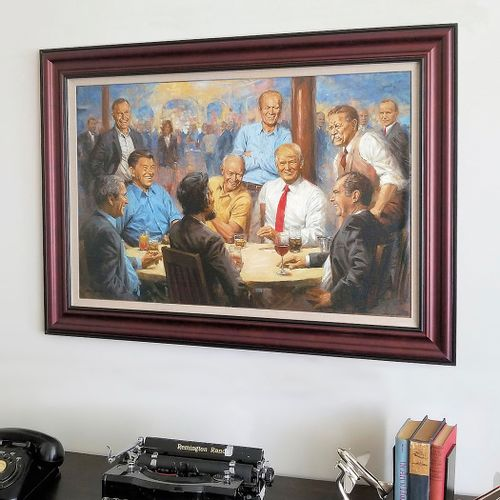 The Republican Club Framed Limited Edition Canvas