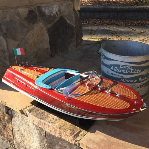 Riva Ariston Model Vintage Wood Boat
