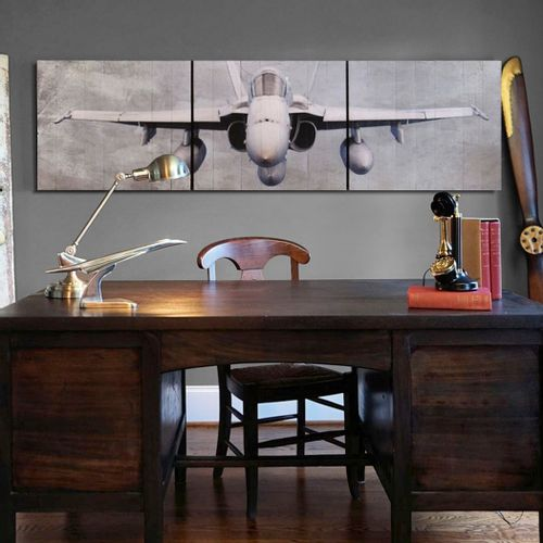 FA-18 Hornet Aviation Triptych