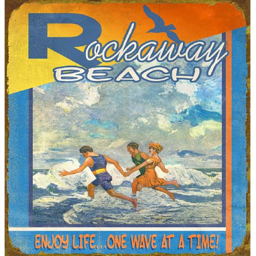 Enjoy Life Personalized Beach Sign