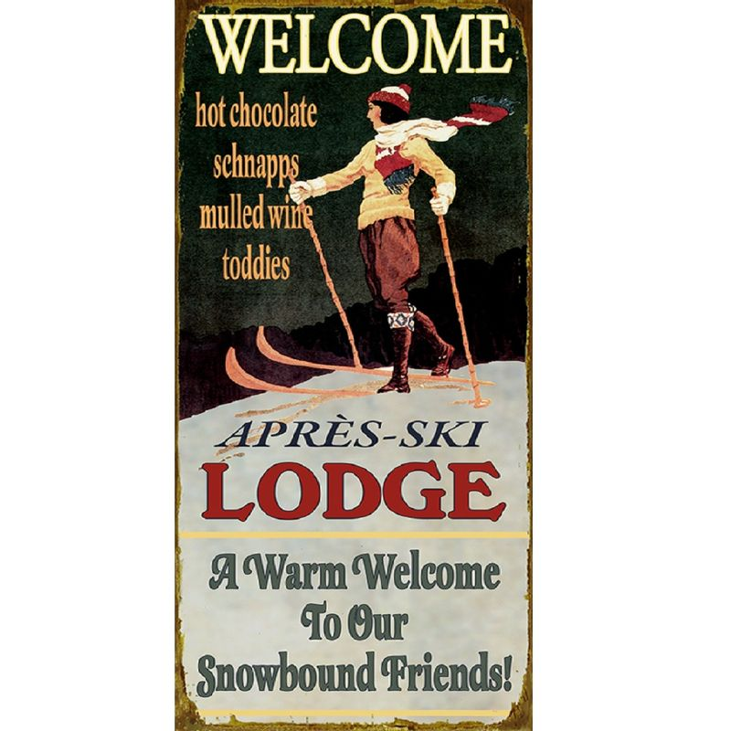 Vintage-Style-Ski-Lodge-Personalized-Sign-1237