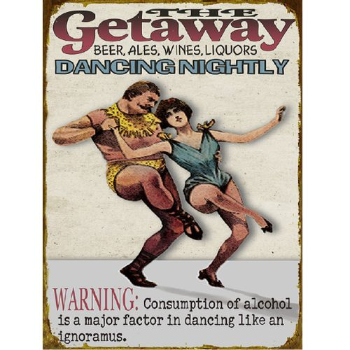 Dancing Nightly Personalized Bar Sign