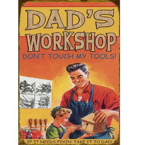 Workshop Personalized Wood or Metal Sign