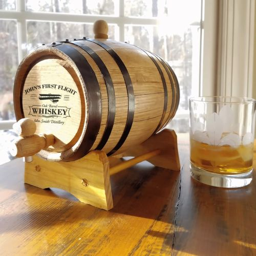 2 Liter Aviation Whiskey Kit with Personalized Barrel