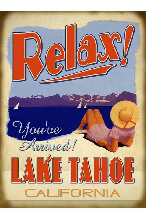 Relax Youve Arrived Personalized Lake or Cabin Sign