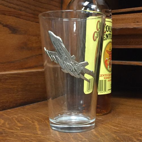 F-18 Hornet Pint Glass