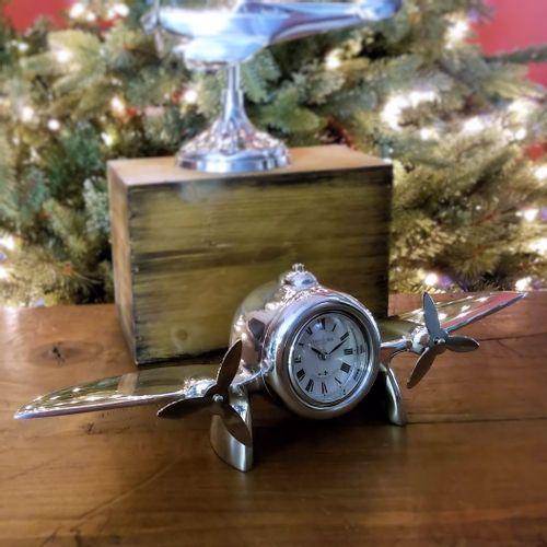Art Deco Airplane Clock
