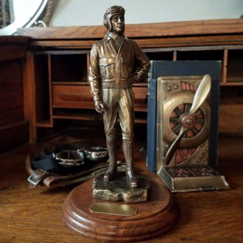 Classic Pilot Statue