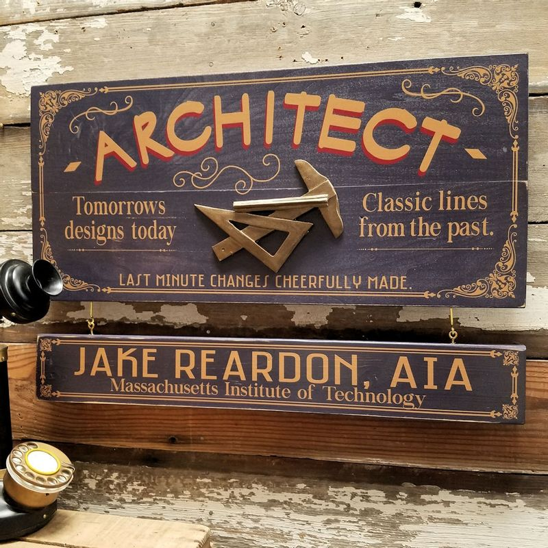Architect-Wood-Sign-with-Optional-Personalization-14974