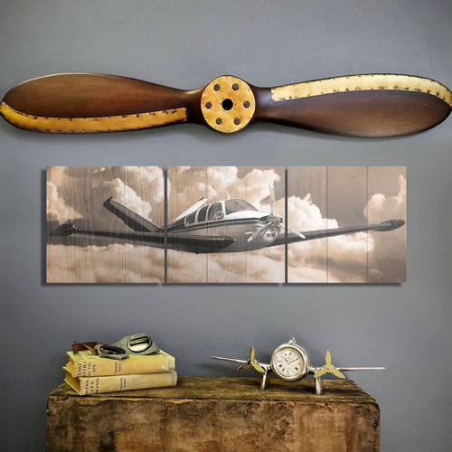 Beechcraft Bonanza and Propeller Set