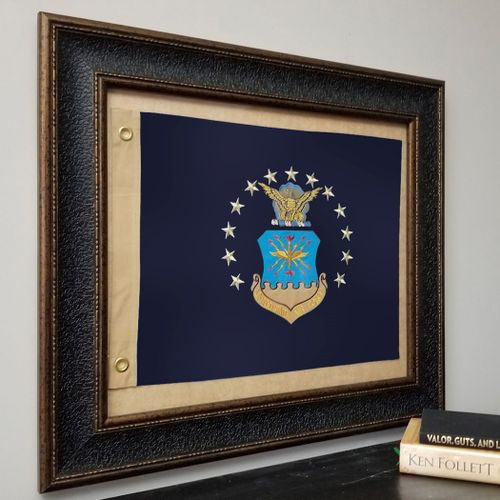 U.S. Air Force Flag Framed