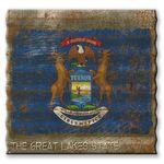 Michigan-State-Flag-Corrugated-Metal-Sign-13181