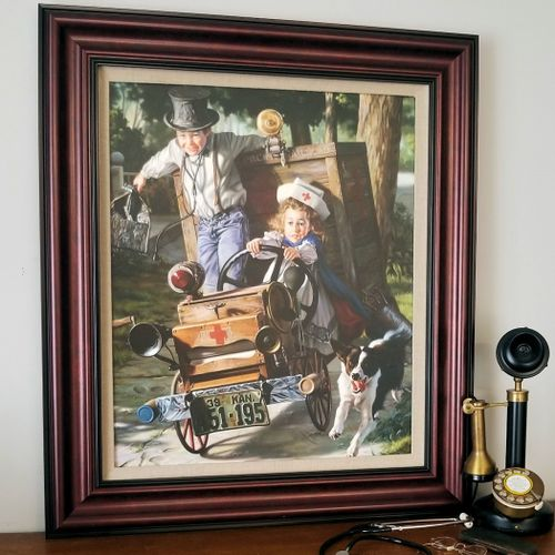 Framed Help on the Way by Bob Byerley