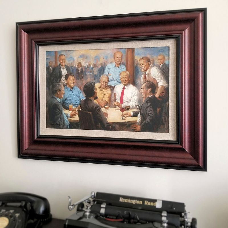 The-Republican-Club-Framed-Open-Edition-Canvas-83