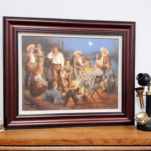 American Storytellers Framed Open Edition