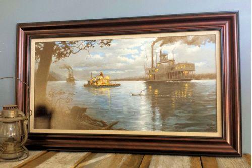 Huckleberry Finn Framed Print - Limited Edition