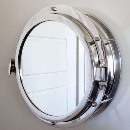 Airship Porthole Mirror