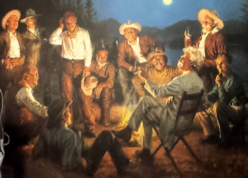 American Storytellers by Andy Thomas Limited Edition Framed