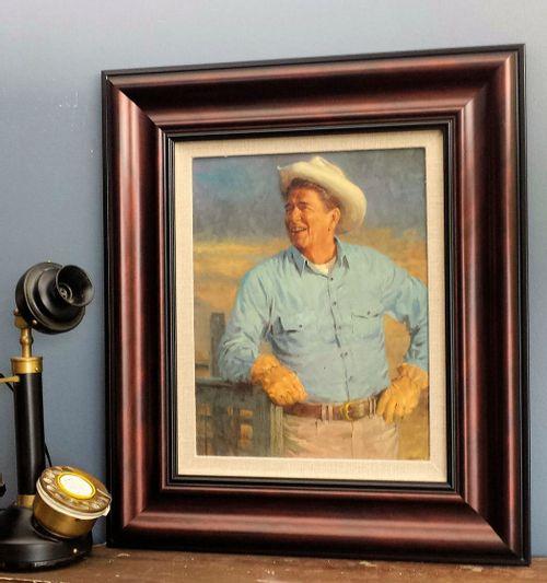 Ronald Reagan Framed Open Edition