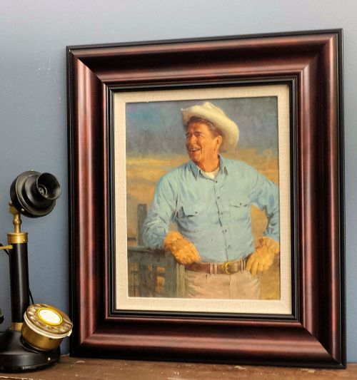 Ronald Reagan Framed Open Edition