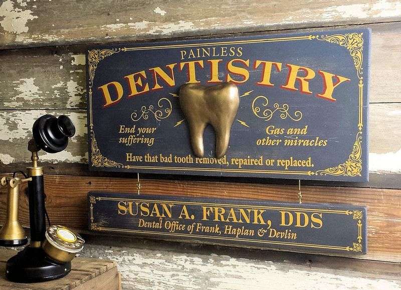 Dentistry-Wood-Plank-Sign-with-Optional-Personalization-13803