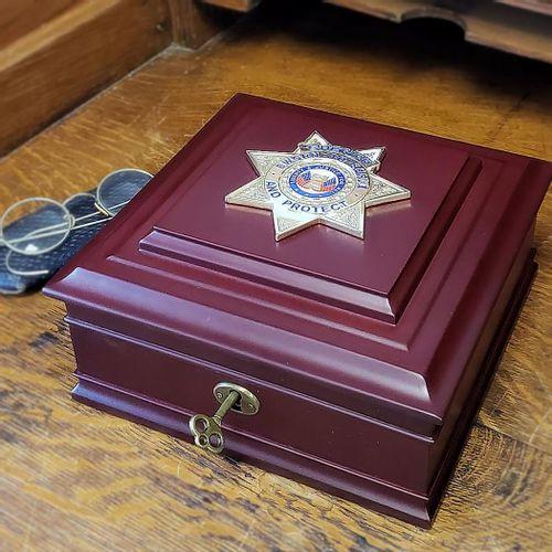 Sheriff Keepsake Box