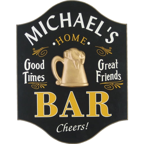 Good Times Personalized Bar Sign