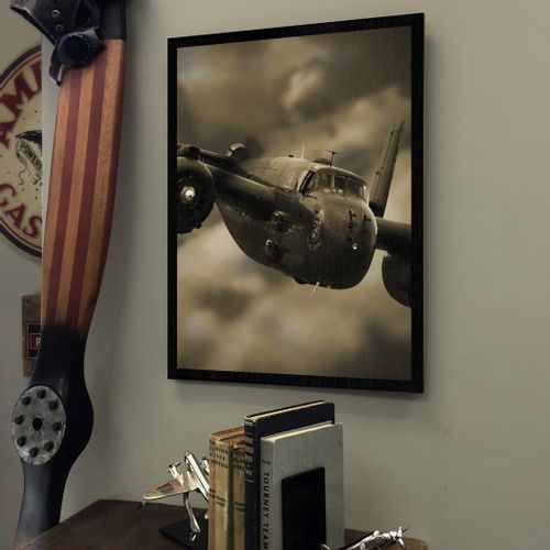 End of Mission B-25 Bomber