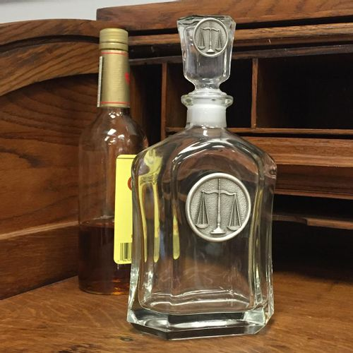 Scales Of Justice Decanter