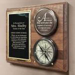 Teacher-Compass-On-Personalized-Plaque-11432