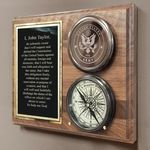 Army-Compass-On-Plaque-11441