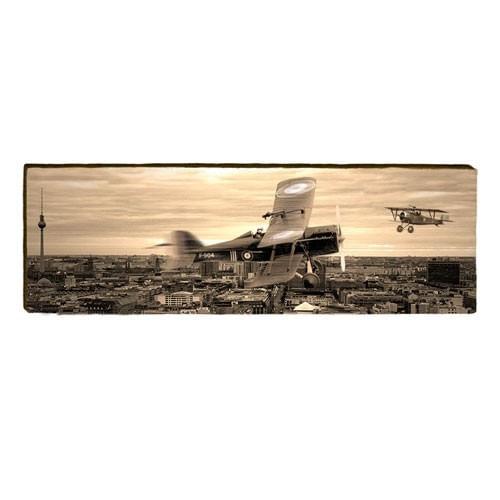 WWI Planes Wood Plank