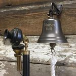 5-Inch-Bronze-Finish-Brass-Wall-Bell--2-5-pounds-6055