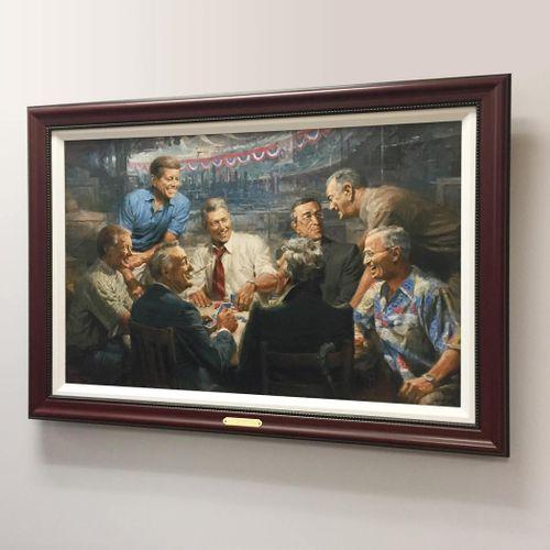 True Blues - Framed Canvas