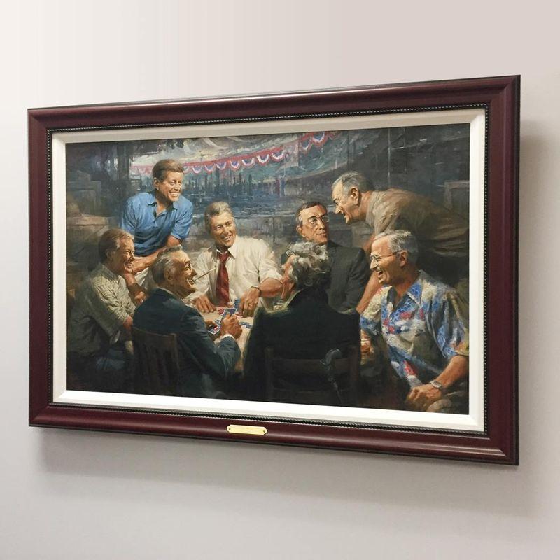True-Blues---Framed-Canvas-7430