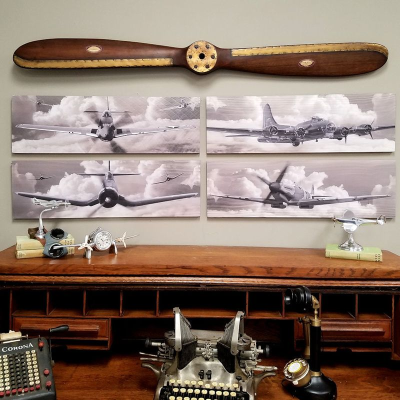 "Fantastic-Four-""Out-of-the-Clouds""-WW2-Warplane-Set-14782"