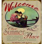 Welcome-to-Our-Summer-Place-Wood-or-Metal-Personalized-Sign-4675-5