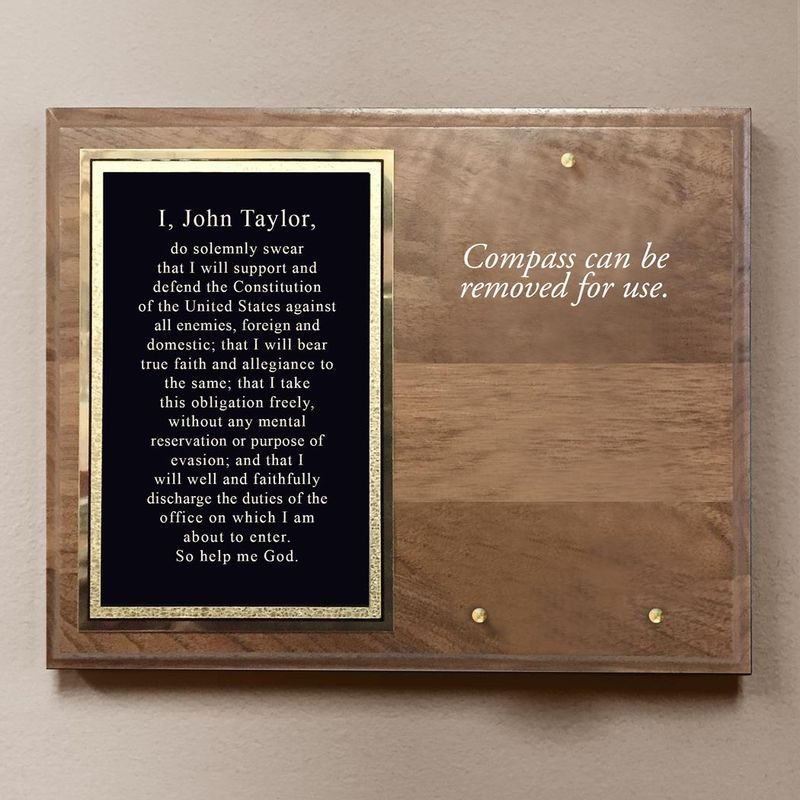 Army-Compass-On-Plaque-11441-5