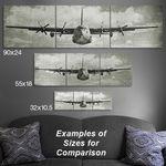P-38-Lightning-Wood-Triptych-Aviation-Art-14331-3
