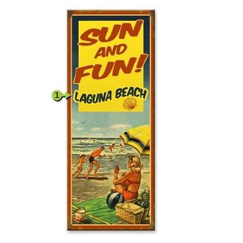 Sun---Fun-Retro-Personalized-Beach-Sign-7955-3