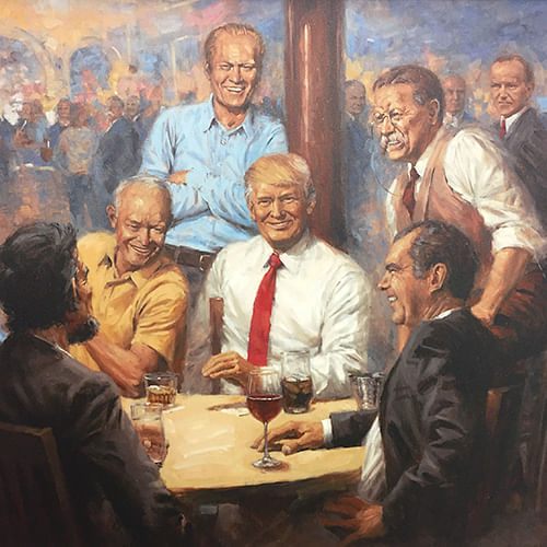 The-Republican-Club-Framed-Limited-Edition-Large-Canvas-98-3