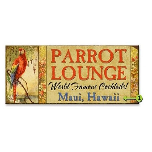 Parrot-Lounge-Personalized-Wood-or-Metal-Bar-Sign-13864-3