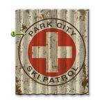Ski-Patrol-Corrugated-Metal-Personalized-Cabin-Sign-13769-3