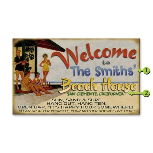 Retro-Welcome-to-the-Beach-House-Funny-Personalized-Sign-472-3