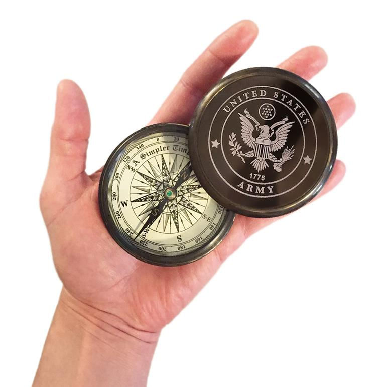 Army-Compass-On-Plaque-11441-3