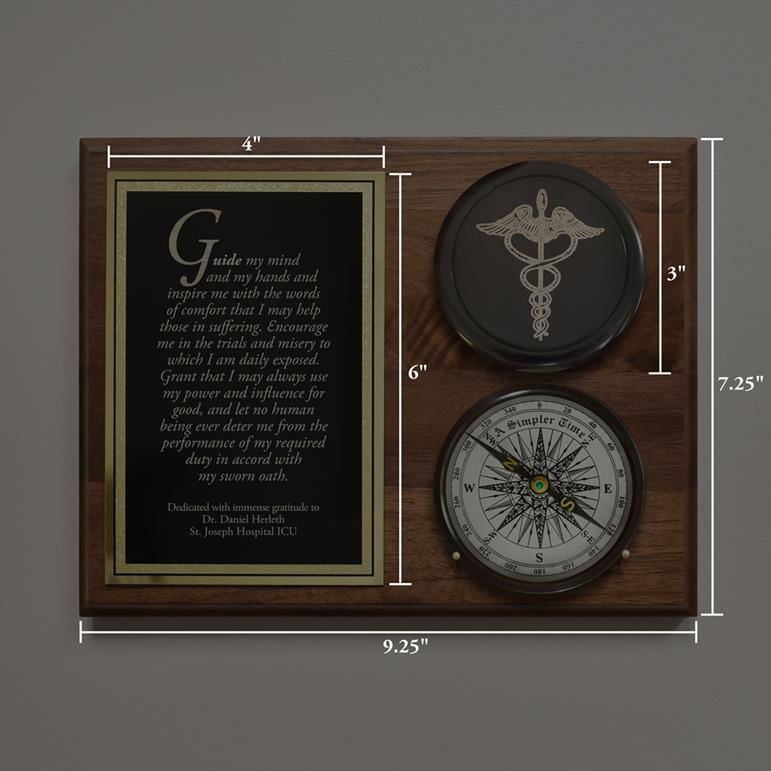 Healthcare-Compass-On-Plaque-11447-3