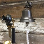 5-Inch-Bronze-Finish-Brass-Wall-Bell--25-pounds-6055-3