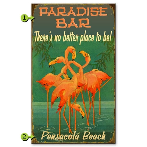 Flamingos-Personalized-Sign-7169-3